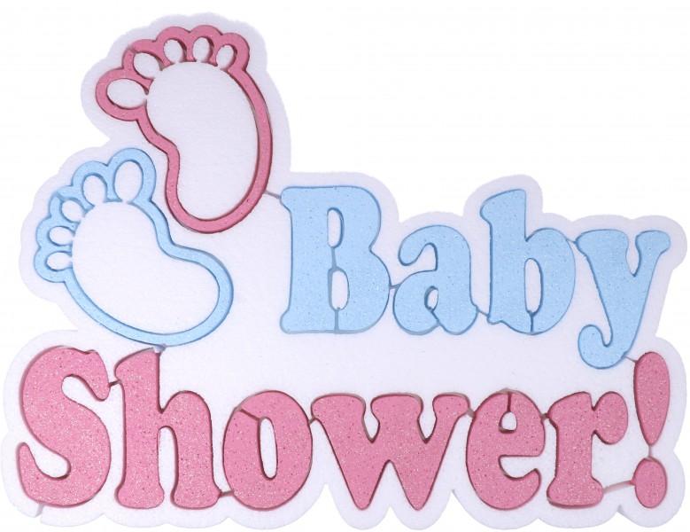 Scritta Polistirolo Baby Shower