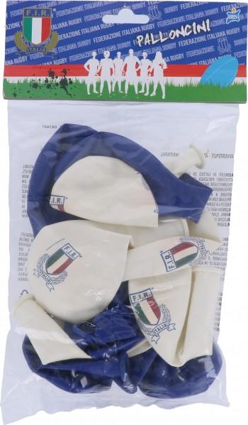 Palloncini Italia Rugby 12 pz