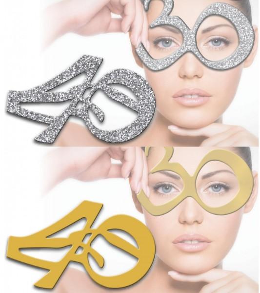 Occhiali 40 anni Argento e Oro