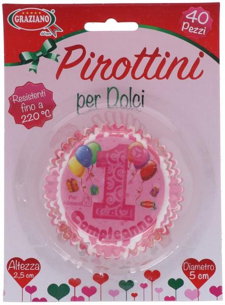 Pirottini Primo Compleanno 40 Pz