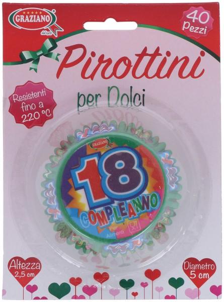 Pirottini 18 anni 40 Pz