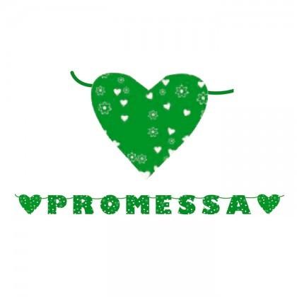 Festone Scritta Promessa 6 m