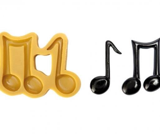 Note Musicali Stampo in Silicone