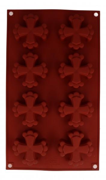 Stampo Silicone 8 Croci