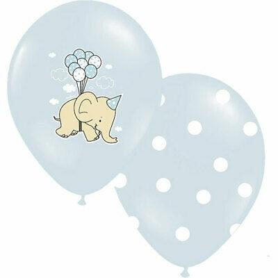 Lattice Baby Elefantino Celeste 6 Pz