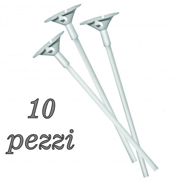 Bastoncini con valovole pz. 10