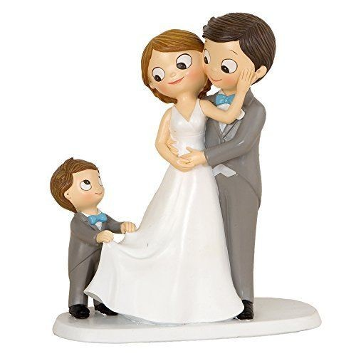 Centrotorta Sposi con Bambino Y615.3