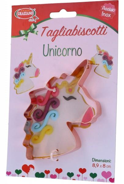 Tagliabiscotti Unicorno