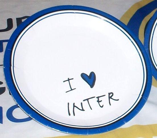 Piatto Inter Cm 24 Pz.10