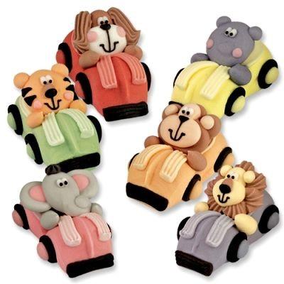 Animali in zucchero sull'auto Pz.1