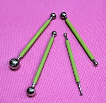 Ball Tool in Metallo 4pz