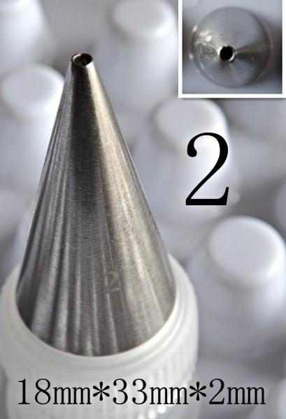 Beccuccio foro tondo 2 mm