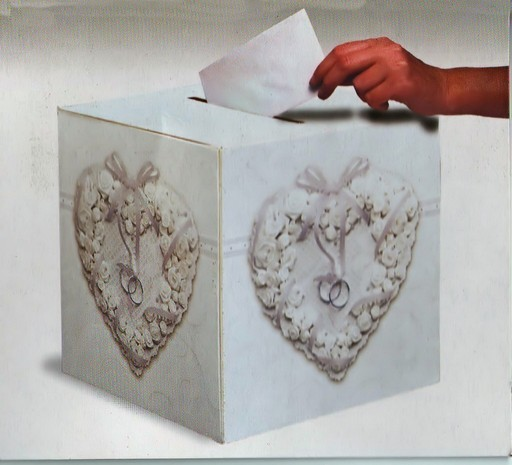 Box Card Matrimonio