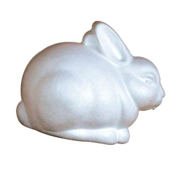 Coniglietto polistirolo 20,5 cm Pz.1