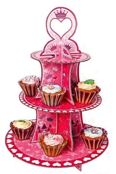 Alzata Cupcake Principesse