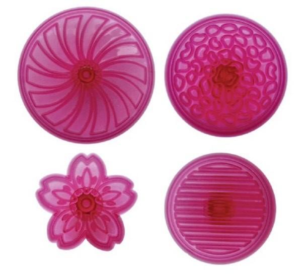 Formine per Cupcake Dischi Pz.4