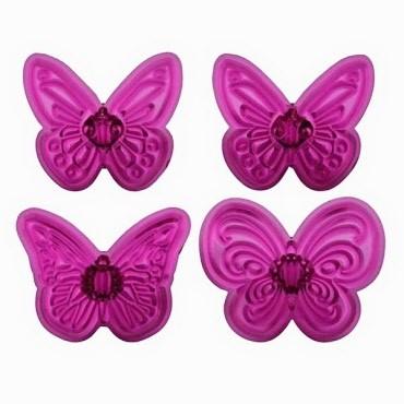 Formine per Cupcake Farfalle Pz.4