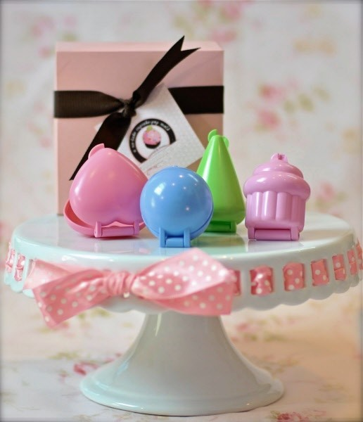 Stampi 3D per cupcake 4 Pz