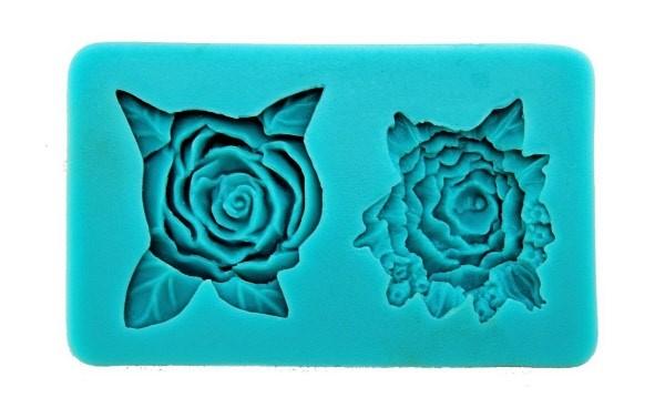 Stampo Silicone 2 Rose