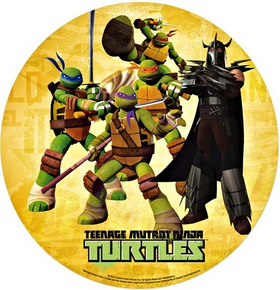 Cialda Tartarughe Ninja