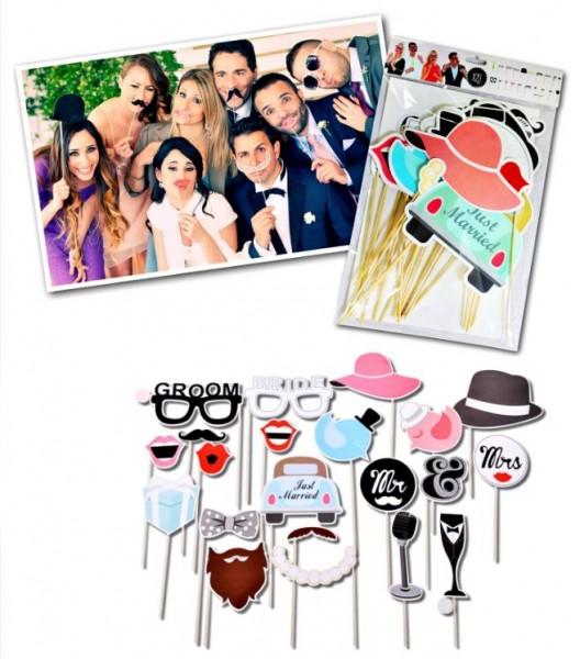 Mascherine Selfie Booth Matrimonio