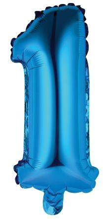 Palloncini numero 1 blu