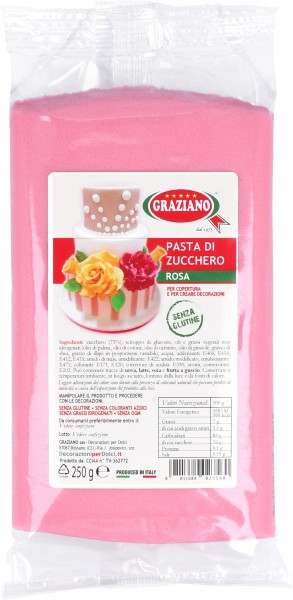 Pasta di Zucchero Rosa