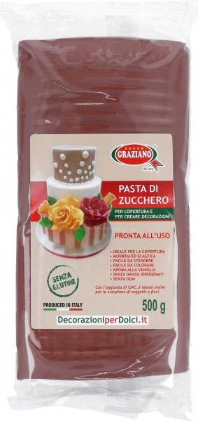 Pasta di Zucchero Marrone