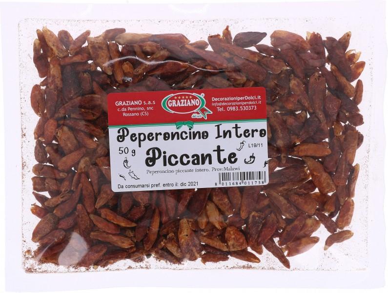 Peperoncino piccante intero 50 g