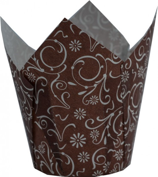 TULIP CUP Marroni Decorati 20 Pz