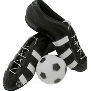 on sale e273f be818 Scarpette & pallone Calcio | DecorazioniperDolci.it