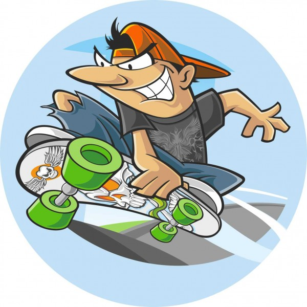 Cialda Skateboard