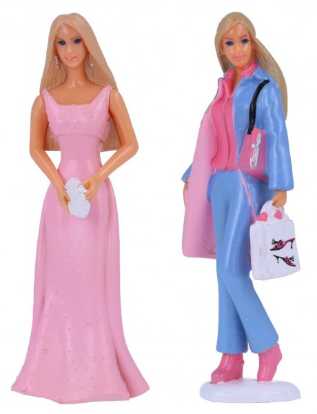 Statuina Barbie 1 pz