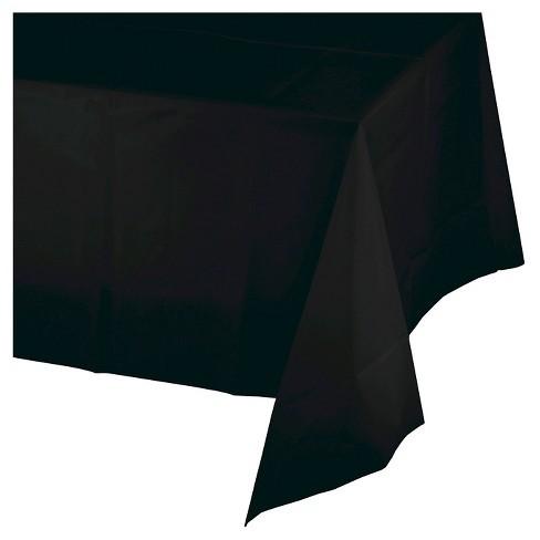 Tovaglia in plastica Nero