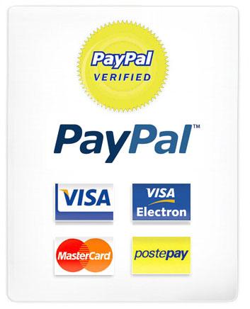 Scegli tra 5 diversi metodi di pagamento